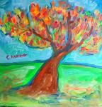 Maple Tree Orange Fire by Darren Canning