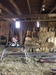 Work at Barn
